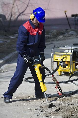Petrol Hydraulic Breaker