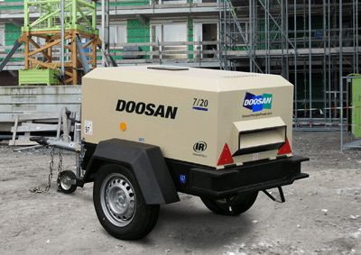Towable Air Compressor (Diesel)