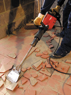 Floor Tile Removal Tool