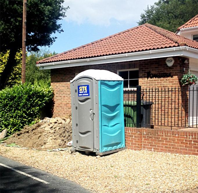 Site Toilet Unit